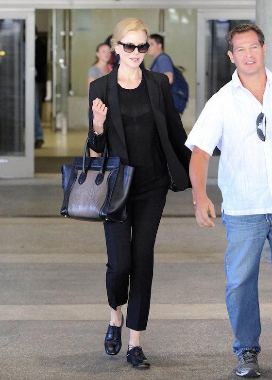 Nicole Kidman at LAX