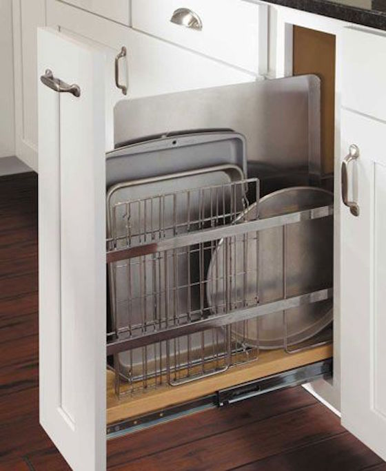 Pull Out Drawer for Cookie Sheets