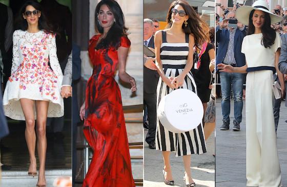 Style Icon Amal Clooney