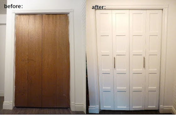 Updating Bi-Fold Closet Doors