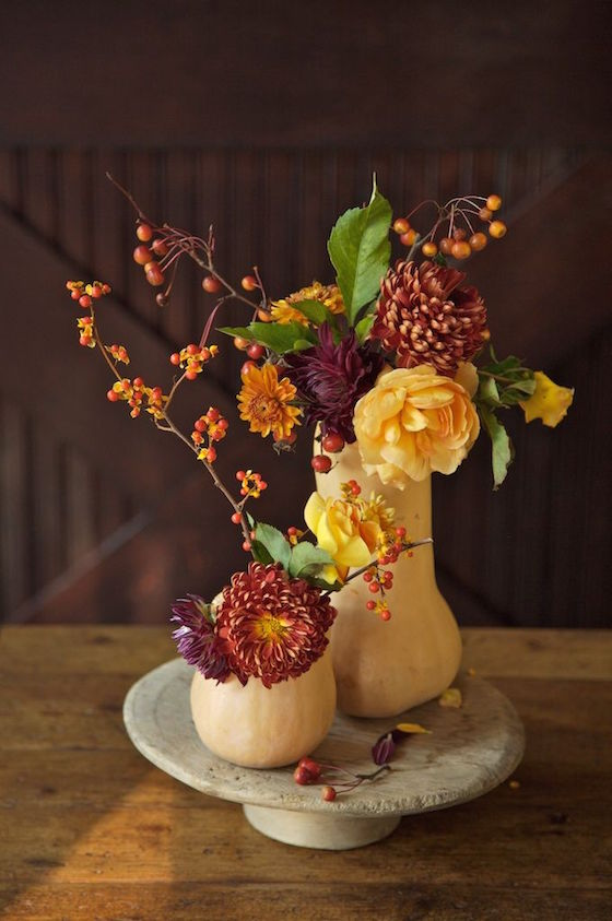 11 Stunning Fall Floral Arrangements With Pumpkins Amp Gourds