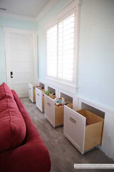 The Organized Playroom - Drawers for Kids Toys