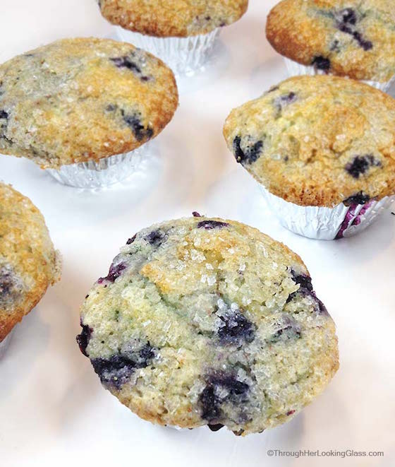 Famous Department Store Recipes | JORDAN MARSH BLUEBERRY MUFFINS