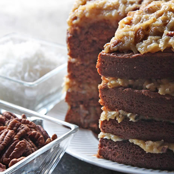 Famous Department Store Recipes | Marshall Field's German Chocolate Cake