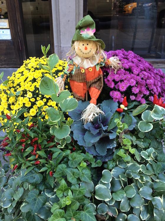 Scarecrow Fall Planter
