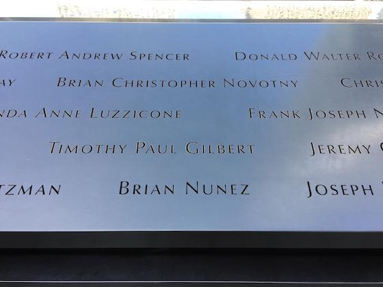 World Trade Center Names