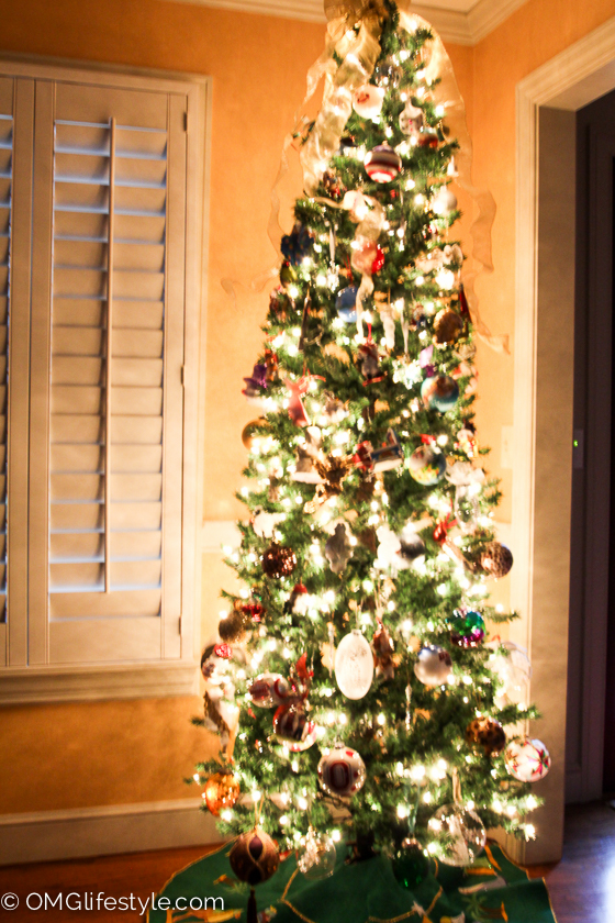 Merry and Bright Holiday Home Tour - OMG Lifestyle Blog - Our Christmas Tree Story