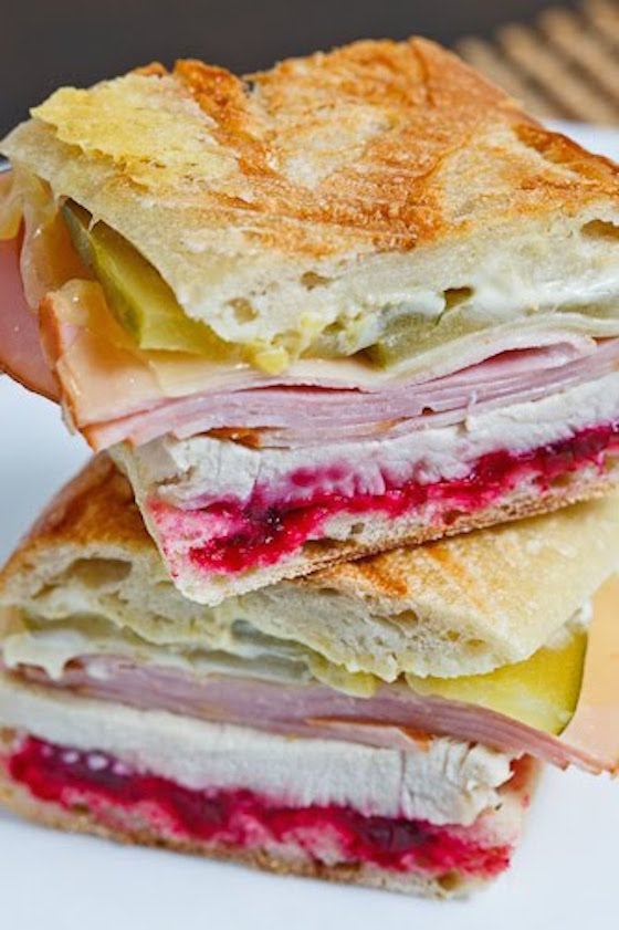 4 Delicious Leftover Turkey Sandwiches | Roast Turkey Cubano Sandwich