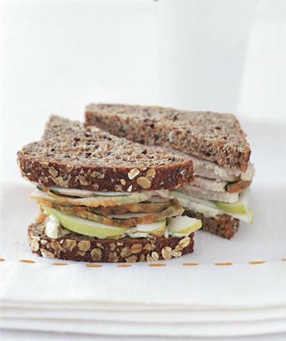 4 Delicious Leftover Turkey Sandwiches | Turkey Walnut Sandwich