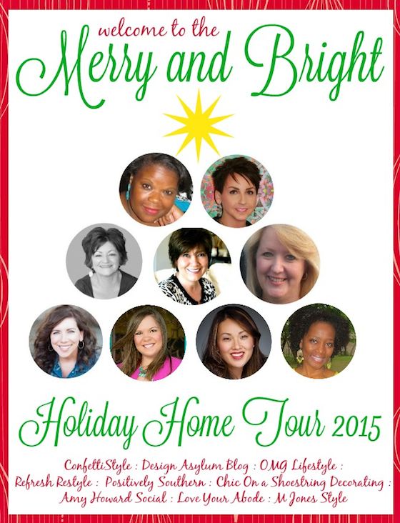 Merry and Bright Holiday Home Tour - Participating Bloggers