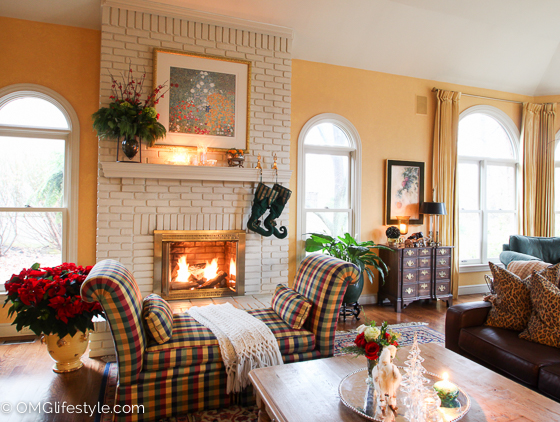Merry and Bright Holiday Home Tour - OMG Lifestyle Blog - Our great room