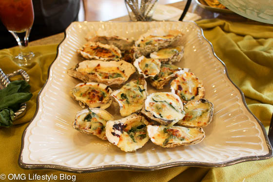 Merry & Bright Holiday Home Tour, Week 2  - Oysters Rockefeller