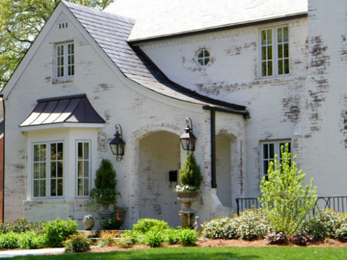 Painted Brick Homes Add Charm & Curb Appeal - OMG Lifestyle Blog