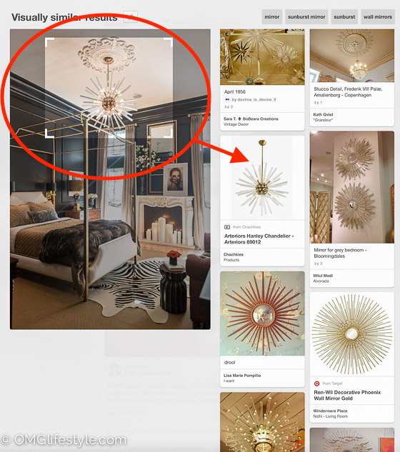Learn how to use the Pinterest Visual Search Tool