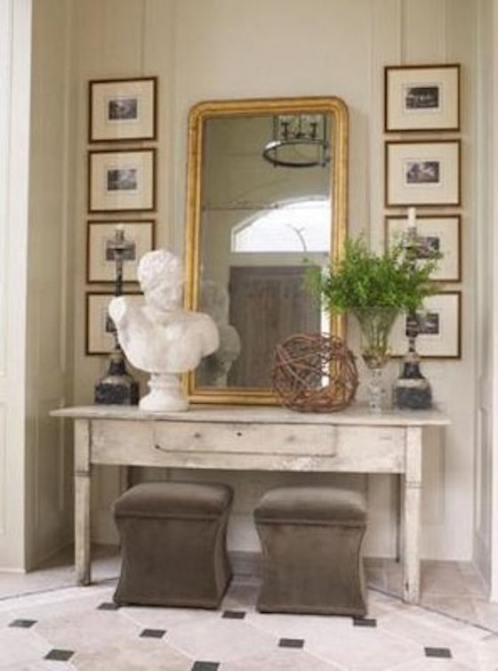Foyer Table With Stools : Stylish versatile benches stools ottomans omg