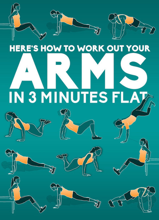 3 Minute Arm Work Out