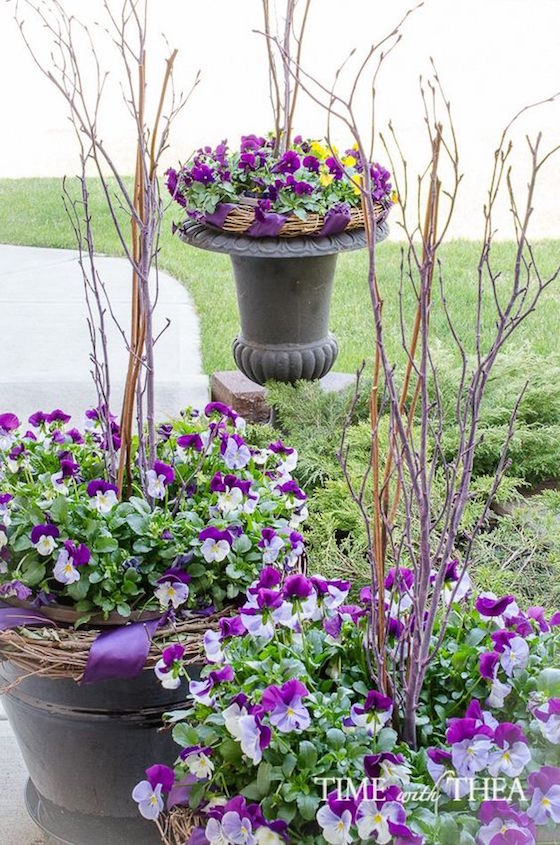 Image Result For Container Flower Arrangements