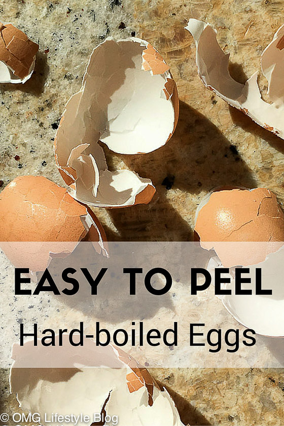 Easy to peel hard-boiled eggs