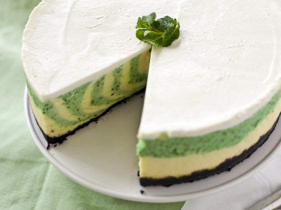 St-Patricks-Mint-CheeseCake-Recipe