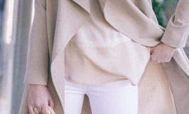 Stylish White Jeans for Spring