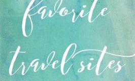 Favorite Travel Sites