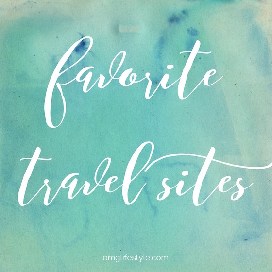 This post is about some of my Favorite Travel Sites that I use on a regular basis.  Let me know which ones you like too!