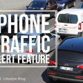 IPHONE TRAFFIC ALERT FEATURE