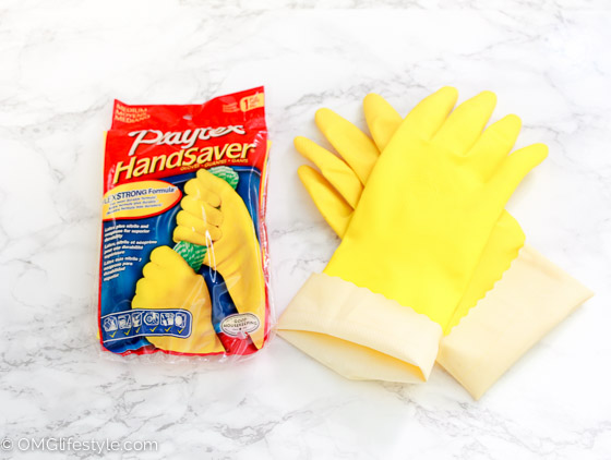 Dishwashing gloves are a must for me! (1 of 1)