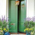 Green Front Doors