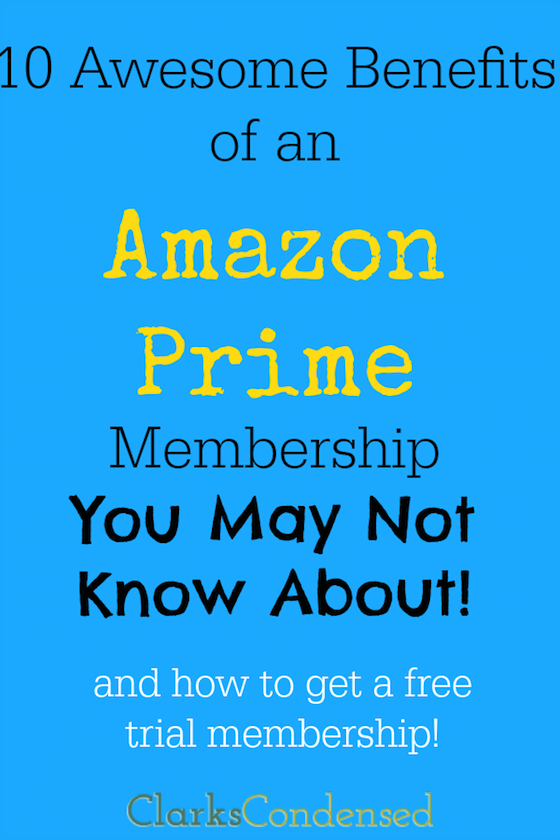 Benefits of Amazon Prime Membership