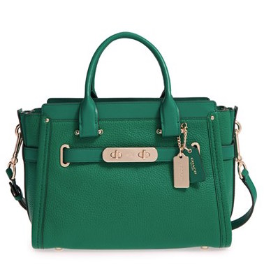 Green Coach Satchel