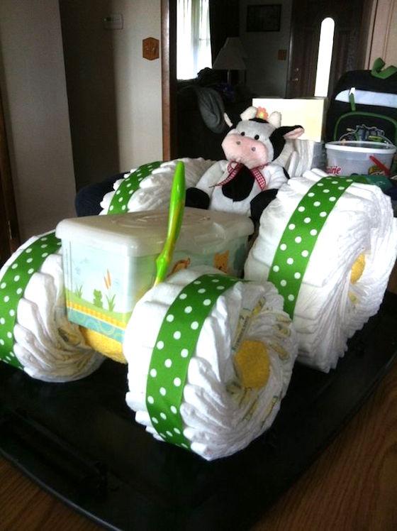 How To Make A Cloth Diaper Cake