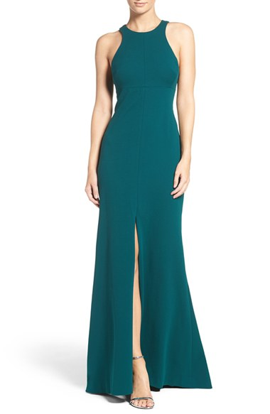 Mermaid green gown