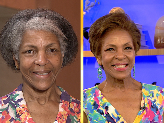 Amazing beauty makeovers on the Today Show - see the blog for more before and after pics