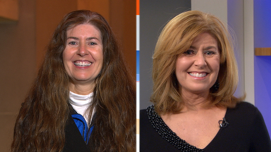 Sharing dramatic beauty makeovers of 8 lucky gals on the Today Show