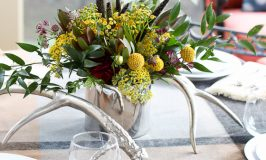Rustic Elegant Autumn Tablescape