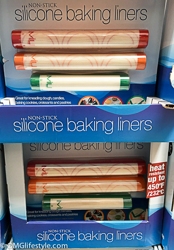 Silicone baking liners have many more uses than lining cookie sheets