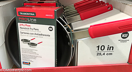 Frying pans at Costco