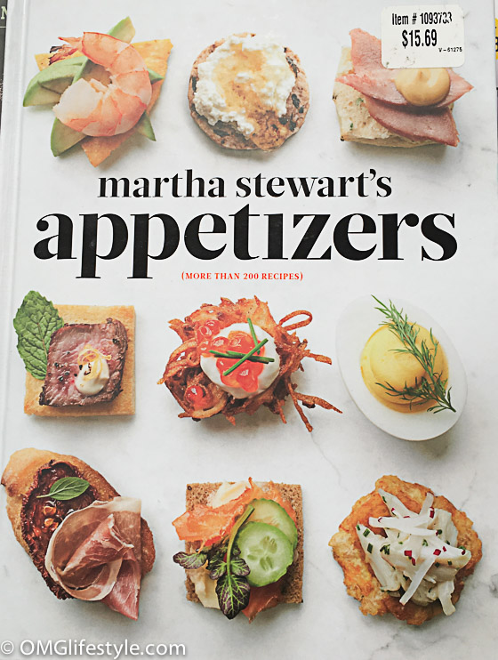 Martha Stewart's Appetizer Cookbook