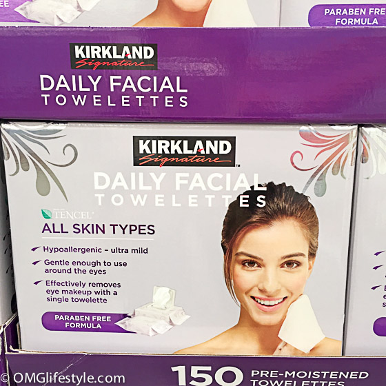 Costco Facial Wipes are fabulous!
