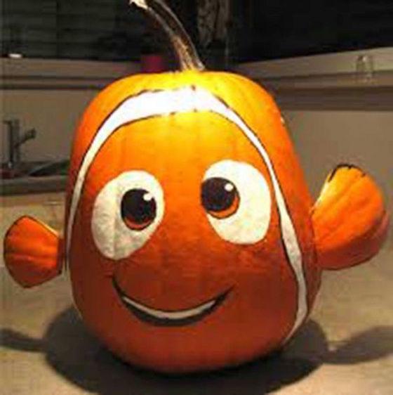 Finding Nemo Pumpkin