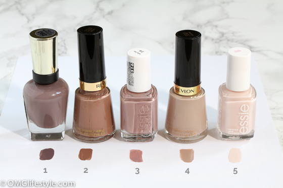 My 5 Favorite Neutral Nail Polish Colors for Fall