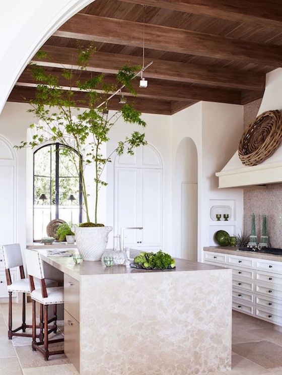 Gorgeous Kitchen with Wood Ceiling