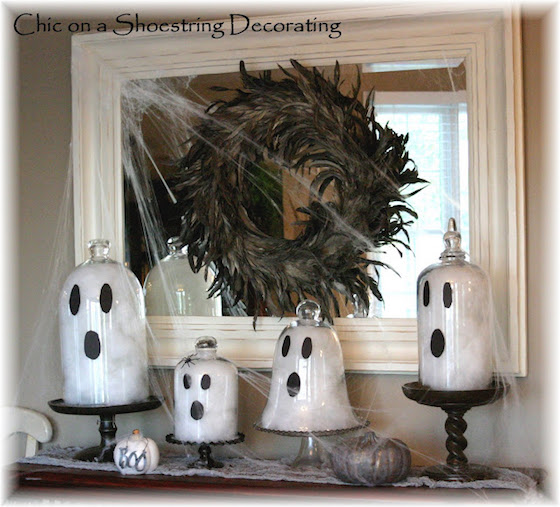 Creative halloween ghosts and mummies omg lifestyle blog - Decorating a beach house on a shoestring ...