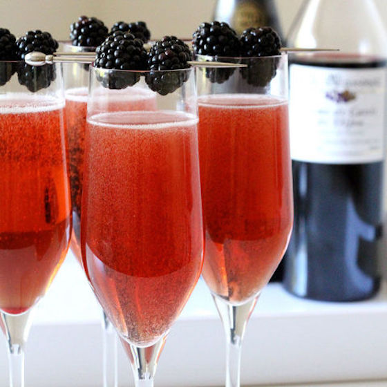 10 Champagne Cocktails to Ring In the New Year