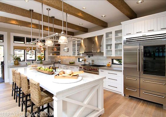 Stunning kitchen (click on link to tour the rest of the home)