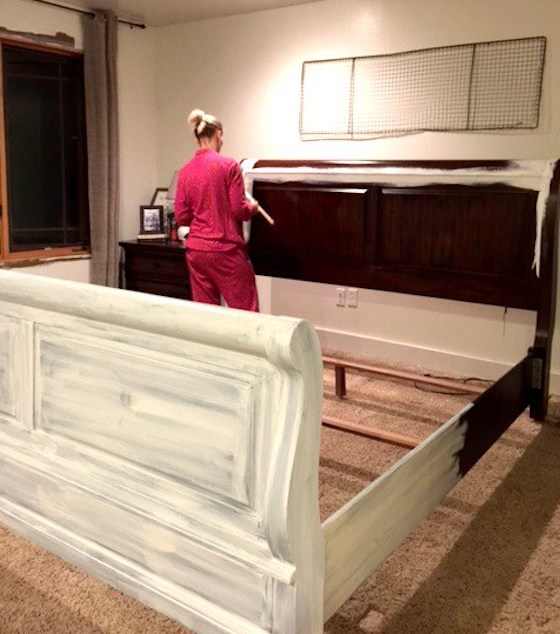 PAINTING AND DISTRESSING FURNITURE 101- BRINGING FARMHOUSE STYLE HOME by Twelve on Main