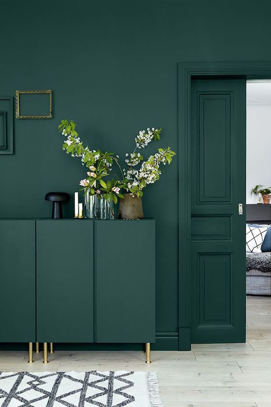 Green color trend for 2017