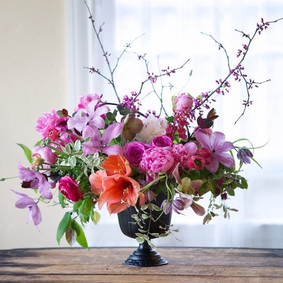 Gorgeous floral arrangment by Kiana Underwood