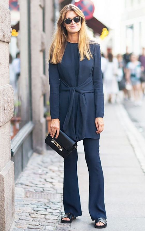 Monochromatic Blue Fashion